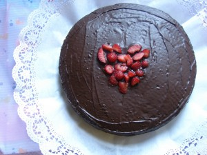chocolate cake by queque_zanahoria on fotopedia